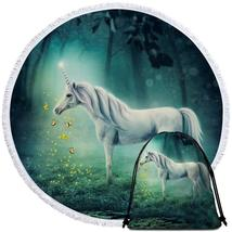 A Fairy Tale Unicorn Beach Towel - $12.32+