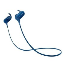 Sony MDR-XB50BS EXTRA BASS Sports Bluetooth In-Ear Headphones Blue NEW J... - $115.90 CAD