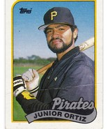 1989 Topps Junior Ortiz ***DAMAGED*** - $0.00