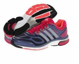 NWT Women's adidas Supernova Athletic Running Shoes Q21473 BlkPurpBurg - $79.99