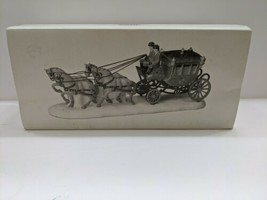 Dept 56   ROYAL COACH   Dickens Village Heritage New Never Displayed! #5... - $49.49