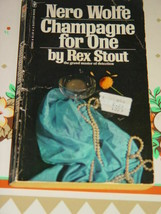 Nero Wolfe Champagne For One By Rex Stout 1975 5th Printing Mystery - $5.78
