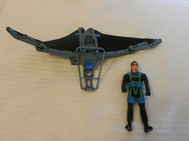 Jurassic Park Lost World S1 Glider With Ian Malcolm Hang Glider Suit Fig... - $22.28