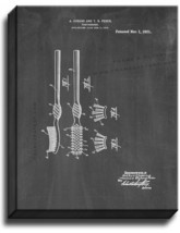 Toothbrush Patent Print Chalkboard on Canvas - $39.95+