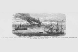Sailors from Gunboats 'Albatross' & 'Gemsbok' burn Contraband Vessel 'Yo... - $19.99+