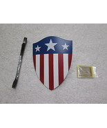 Captain America Shield & Notes 1/6 Scale Star Spangled Man MMS 205 - Hot... - $47.40