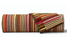 Missoni Home Jazz Color 156 Towel - Striped Terry Red & Orange - $26.50+