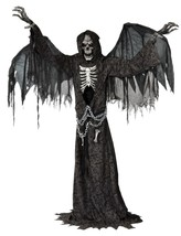 Angel of Death Animated Halloween Prop Haunted House Animatronic Life Si... - $199.99