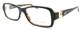 Ralph Lauren RL6107Q 5260 Women's Eyeglasses Frames 55-16-140 Black / Havana - $49.40