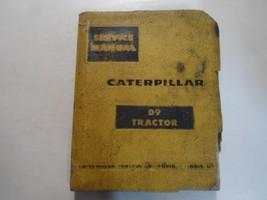 Caterpillar D9 D 9 Tractor 18A1-UP & 19A1-UP Service Shop Repair Manual ... - $27.68