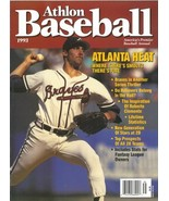 John Smoltz unsigned Atlanta Braves Athlon Sports 1993 MLB Baseball Prev... - $10.00