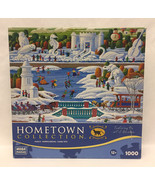 Heronim Harry Wysocki puzzle Wisconsin Snow Sculpture 1000 piece ice ska... - $3.00