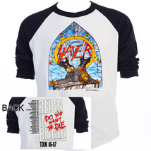 "SLAYER, ""Reign in Blood"" 86-87 TOUR Raglen Base... - $34.99 - $39.99"