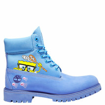 NIB*Timberland*Mens*Spongebob Squarepants 6 inch Waterproof Boots*Brt Bl... - $320.00