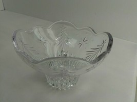 """Mikasa """"Christmas Night"""" Holiday Footed Bowl or Candle Votive Dish 6"""" (8... - $9.99"""