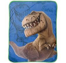 "Jay Franco Disney The Good Dinosaur Carnivore 46"" X 60"" Plush Throw The  - $31.99"