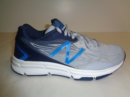 New Balance Size 8.5 M MX677B03 677 Grey Blue Training Sneakers New Mens... - $67.05