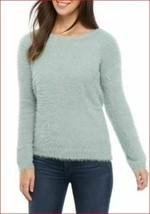 Nuevo Ellen Tracy Mujer Suéter Downtown Glam EPMF9ST248 Suave Menta Verde M - $28.31