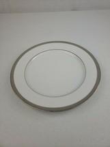 "Nikko Platinum Filigree Dinner Plate 10 5/8"" Beautiful - $15.95"
