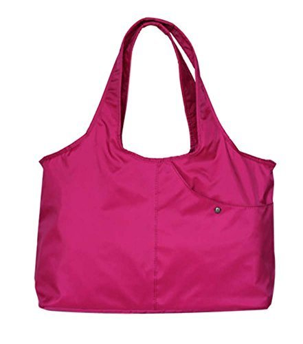 Travel Package Infant Bottle Tote Bag Out Door Baby Package, Rose Red