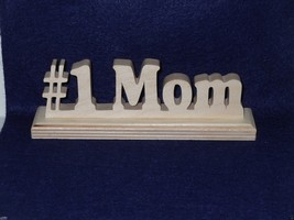 # 1 Mom Desk Nameplate- For Home of office shel... - $9.50