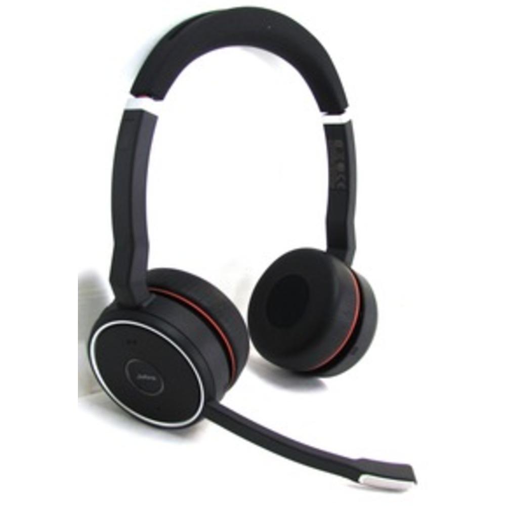 Jabra Evolve 75 Uc Stereo Wireless Bluetooth Headset: Jabra EVOLVE 75 Headset UC Stereo