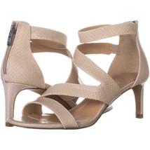 Franco Sarto Celia Strappy Evening Sandals 365, Ivory Snake, 9.5 US / 39... - $25.91