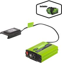 Greenworks 40V 300W Cordless Power Inverter with 4.0Ah 40V battery - $229.56