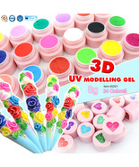 CANNI 3D 4D Modelling Sculpture Gel Nail Art Creative Manicure Decoratio... - $6.99