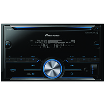 Pioneer FH-S500BT Double-DIN In-Dash CD Receiver with Bluetooth - $134.23