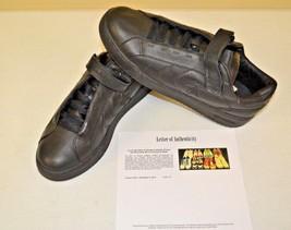 Converse All Star Black Strap Basketball Sz 14 DWAYNE WADE Personal Shoes w COA - $148.49