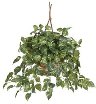 Nearly Natural 6517 Pothos Hanging Basket Decorative Silk Plant, Green - €53,81 EUR