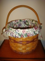 Longaberger 1996 Sweet Pea Basket   - $27.99