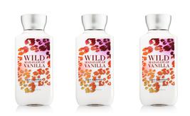 3 Bath & Body Works Signature Collection Wild Madagascar Vanilla Body Lotion 8oz - $19.79