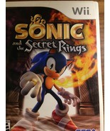 Sonic and the Secret Rings (Nintendo Wii, 2007) (SS1037138) - $9.89
