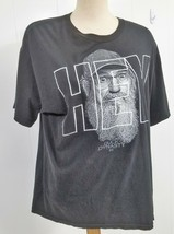Duck Dynasty Hey Black Large Cotton T-Shirt ALSTYLE  XL - $12.16