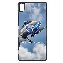 Air Force Sony C3 case Customized premium plastic phone case, design #11 - $11.87