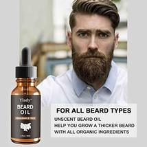 Beard Grooming Kit 100% Natural Beard Care Set for Mustache Growth Includes Unsc image 4