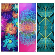 Ultra-light Portable Yoga Mat Cover Natural Rubber Suede Women Fitness Pad  - £47.12 GBP