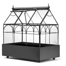 H Potter Plant Terrarium Container Wardian Case Indoor Glass Succulent P... - $87.49