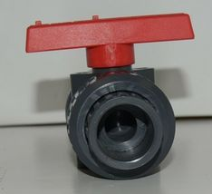American Granby Inc ITUV 75SE PVC Blocked True Union Ball Valve image 3