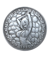 New Hobo Nickel Dollar Bondage Anime BDSM Woman Girl Tied Up Sexy Casted... - $9.49