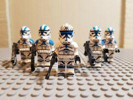 5Pcs Lieutenant Jesse With 501st Clone Troopers Star Wars Clone Wars Min... - $11.99