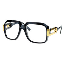 Hip Retro Clear Lens Glasses Oversized Square Fashion Eyeglasses - $9.95