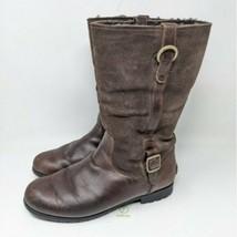 UGG women's small buckles sheepskin boots size 7 - $67.32
