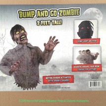 Funny Animated BUMP and GO ZOMBIE TORSO Haunted House Halloween Prop Dec... - €52,60 EUR