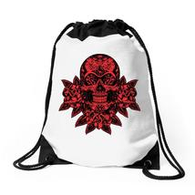 Day Of The Dead Drawstring Bags - $31.00