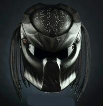 The Predator Helmet Crack Black Wars Style (Dot & Ece Certified) - $250.00