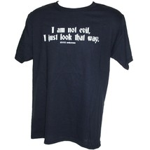 I Am Not Evil, I Just Look That Way - funny goth punk metal T-Shirt Size... - $16.55+
