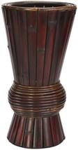 Bamboo Decorative Planter, Brown - $59.31